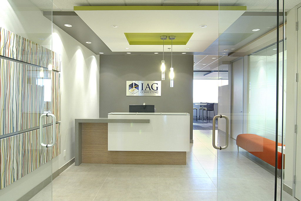 Recption IAG Consulting