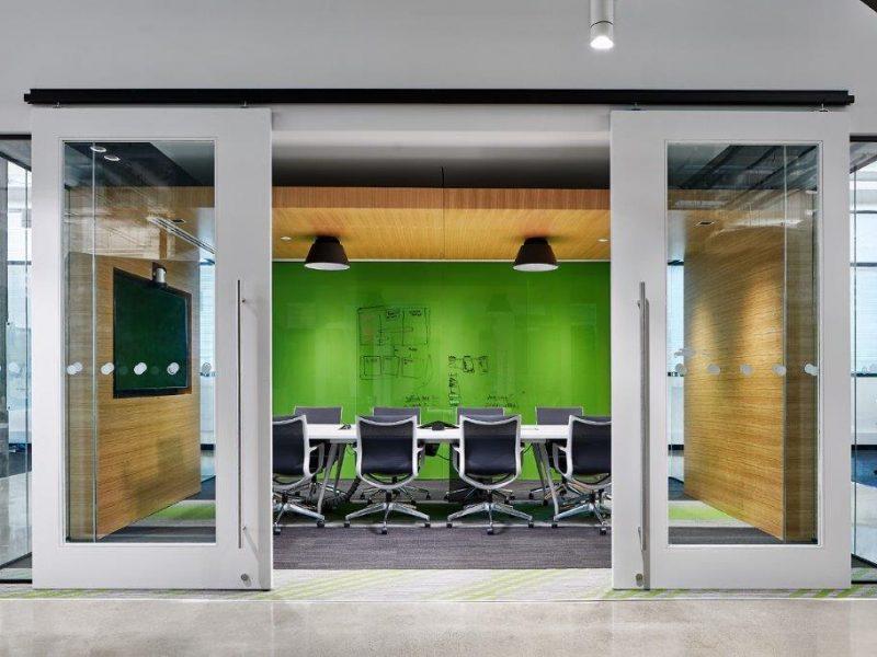 Comley Van Brussel Design TradeRev Office Space